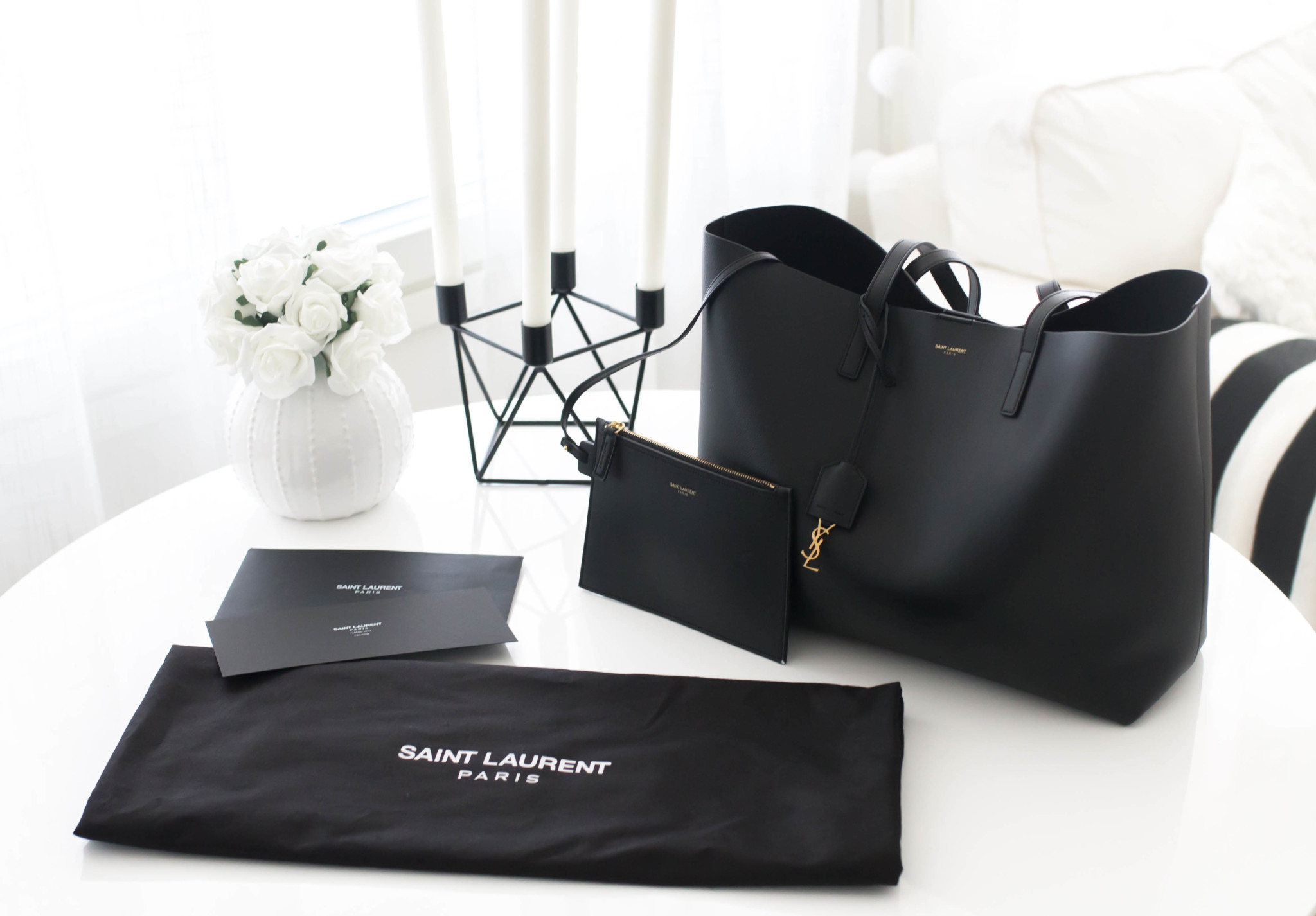 saint laurent shopper
